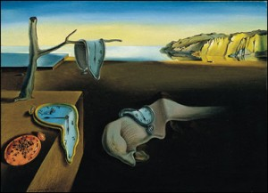 Illustration: Dali's Melting Clocks